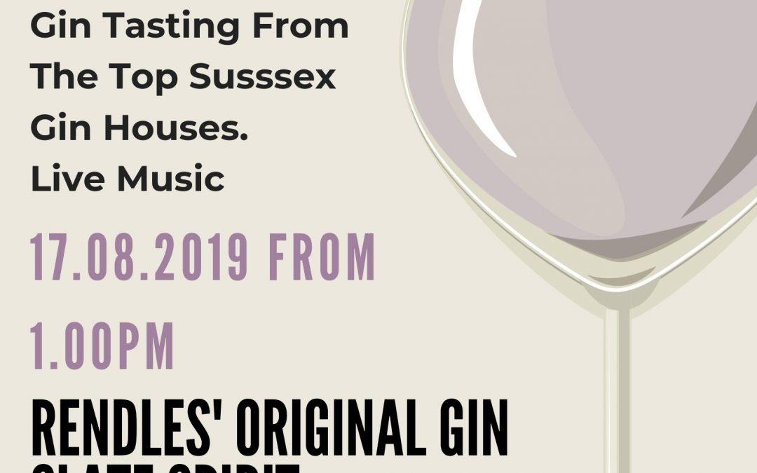 Gin Festival 16th – 17th August