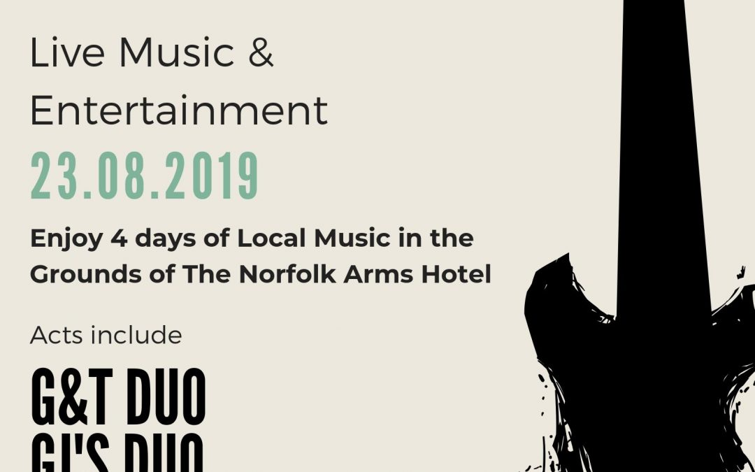 The Norfolk Fringe Live Music 23.08.2019 to 26.08.2019