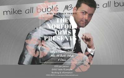 Mike all buble Tribute